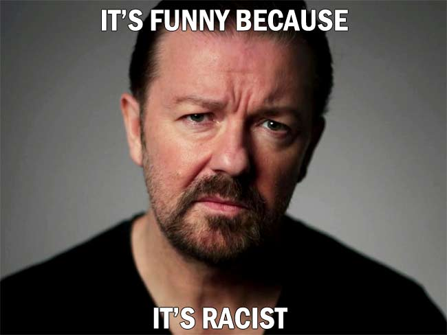 It's Funny Because It's Racist